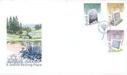 NORFOLK ISLAND - FDC - 14.5.2008 - JEWISH RESTING PLACE  - Yv 952-954 - Lot 17570 - Ile Norfolk