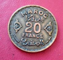 MAROC 20 FRANCS 1371  (RA14) - Maroc