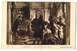 CPA J. JORDAENS Saint Yves , Patron Des Avocats - Peintures & Tableaux