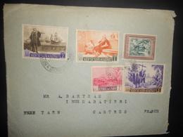 San Marin Lettre De 1958 Pour Castres - Saint-Marin