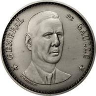 France, Médaille, Seconde Guerre Mondiale, Général De Gaulle, Thiébaud, FDC - France