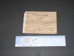 AACHENER KNAPPSCHAFT AUSWEIS FUR INVALIDEN ! -Josef FRIEDRICH - 4/8/1927 - Historical Documents