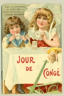 Livret Publicitaire Cacao Van Houten Et Du Chocolat Van Houten Format 11,2 Cm X 16,9 Cm En TB.Etat - Advertising