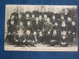 CPA  CAHORS  // Lycée Gambetta 1907 - Classe De 5è AB - Cahors