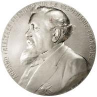 France, Médaille, Les Présidents De La République, Armand Fallières - France