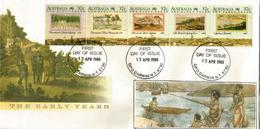 Découverte De L'Australie, Les Premières Années 1790 - 1808, Rencontre Avec Les Aborigènes. FDC DARWIN - Storia