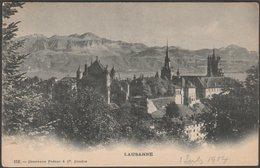 Lausanne, Vaud, 1904 - Charnaux Frères U/B CPA - VD Vaud