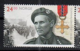 NORWAY, 2018, MNH, WWII, RESISTANCE, GUNNAR SONSTEBY, MILITARY, MEDALS, BICYCLES,1v - WW2