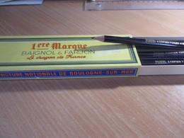 Crayon A COPIER VIOLET * 1ère Marque * 696 - MOYEN - Baignol & Farjon - Neuf - Corps Uni Et Rond.- Voir 4 Photos - Autres Collections