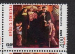 DOMINICAN REPUBLIC, 2017, MNH, RELIGION, CHRITSTIANITY, CARISMA VICENTINO,1v - Christianity