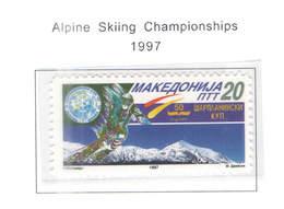 Macedonia PO 1997 Camp.Sci Alpino Scott.88 See Scan On Scott.Page - Macedonia