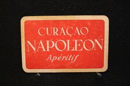 Playing Cards / Carte A Jouer / 1 Dos De Cartes Avec Publicité / Napoléon Apéritif - Curaçao - Cartes à Jouer