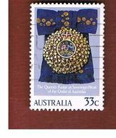 AUSTRALIA  - SG 977 -  1985 ORDER OF AUSTRALIA         -  USED - 1980-89 Elizabeth II