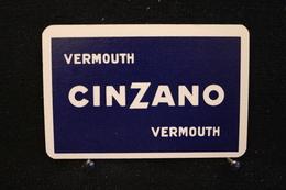 Playing Cards / Carte A Jouer / 1 Dos De Cartes Avec Publicité / Cinzano Vermouth - Cartes à Jouer
