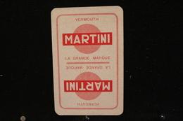 Playing Cards / Carte A Jouer / 1 Dos De Cartes Avec Publicité /  Vermouth Martini - Cartes à Jouer