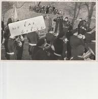 67 - HAGUENAU - Cérémonie Militaire - Fanfare -  ( Photo  8,6 Cm X 13,5 Cm ) - War, Military