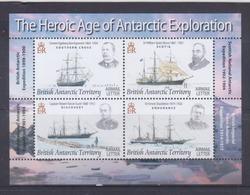 British Antarctic Territory 2008 Explorers & Ships S/S MNH - British Antarctic Territory  (BAT)