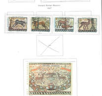 Macedonia PO 1997 Mosaici Romani   Scott.90/93+ S/s 94+See Scan On Scott.Page - Macedonia
