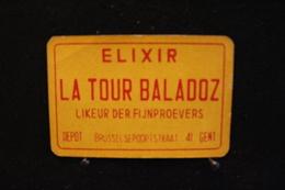 Playing Cards / Carte A Jouer / 1 Dos De Cartes Avec Publicité / Elixir, La Tour Baladoz, Likeur Der Fijnproevers-Gent - Cartes à Jouer