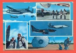 PARACADUTISTI-PARACADUTISMO-  AEREI - - Paracadutismo