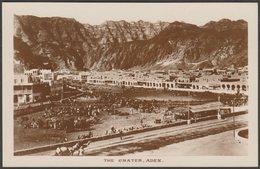 The Crater, Aden, C.1920 - Pallonjee, Dinshaw & Co RP Postcard - Yemen