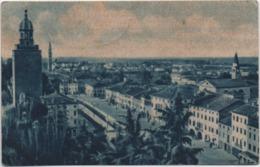 Castelfranco Veneto (Treviso): Panorama Dalla Torre Di Nord-Est - Formato Piccolo Circolata 1947 Tassata - Treviso