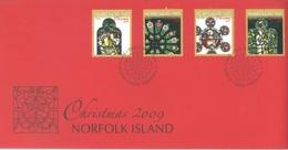 NORFOLK ISLAND - FDC - 2.11.2009 -  CHRISTMAS - Yv 1005-1008 - Lot 17583 - Ile Norfolk