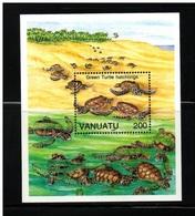 VANUATU    NEUF Sans Charnière   N° B.F.  20      N**     TORTUES - Vanuatu (1980-...)