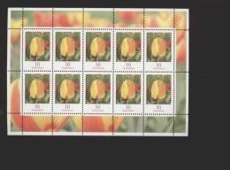 Deutschland BRD  ** 2484A Blumen Kleinbogen - BRD