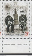 THAILAND, 2017, MNH, JOINT ISSUE  WITH RUSSIA, DIPLOMATIC RELATIONS WITH RUSSIA, CZAR NICOLAS, 1v - Joint Issues