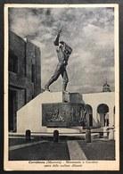 Corridonia Macerata Monumento A Corridoni Viaggiata 1939 Cod.c.2041 - Macerata