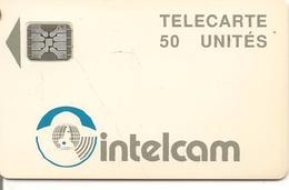 CARTE PUCE-SC4-CAMEROUN-INTELCAM-50U-V° Trou 6-5 Impacts 33875-TBE - Cameroon
