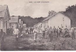 Le CAMP D'AUVOURS - Dépt 72 - La Vie Au Camp - Animée - CPA - Caserme