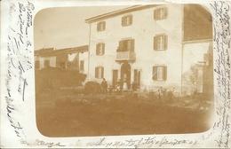 CORTONA (timbro Raro Riquadrato) - Foto Cartolina - F. Piccolo - Retro INDIVISO - VIAGGIATA 1903 - (rif. H93) - Arezzo