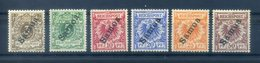 GERMANY. SAMOA, Deutsches Reich Kolonien Samoa N 1-6 - Colonie: Samoa