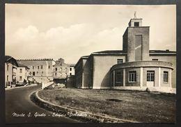 Monte San Giusto Edificio Scolastico Macerata Viaggiata Ma Francobollo Asportato Cod.c.2047 - Macerata