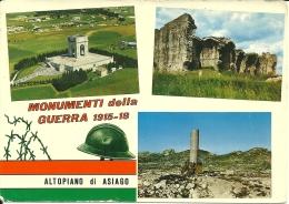 ASIAGO  VICENZA  Altopiano  Monumenti Della Guerra 1915-18 WW1 - Vicenza