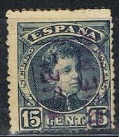 Sello 15 Cts Alfonso XIII, Carteria BAGUENA (Teruel), Edifil Num 244 º - Used Stamps