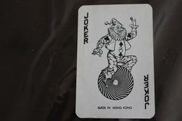 Playing Cards / Carte A Jouer / 1 Dos De Cartes Avec Publicité / Joker - The World Joker .- Made In Hong Kong - Autres