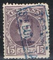 Sello 15 Cts Alfonso XIII, Carteria SANTA EULALIA (Teruel), Edifil Num 245 º - Used Stamps