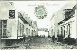 Schelle. Antwerpsche Steenweg. Chaussée D'Anvers. - Schelle