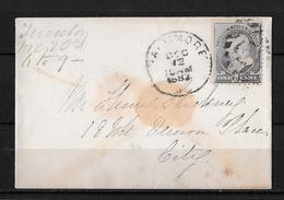 United States-1882 1 Cent Blue On Invitation Card Baltimore Local Cover - 1847-99 Unionsausgaben