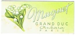 Parfum. Muguet Grand Duc. Ankara. Paris. Cachet 6è.Bal Du Muguet Au Phare-Nivelles, Paul Porter Et Les Mascottes. - Modern (from 1961)