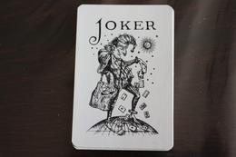 Playing Cards / Carte A Jouer / 1 Dos De Cartes Avec Publicité / Joker - The World Joker.- The Jooly Joker - Cartes à Jouer