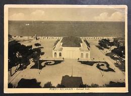 Porto Recanati Kursaal Lido Macerata Viaggiata 1956 Un Pò Rovinata Cod.c.2050 - Macerata