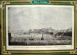 Pubblicità ISOLA D'ELBA HOTEL DARSENA PORTOFERRAIO ANNI'50 - Old Paper