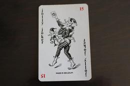 Playing Cards / Carte A Jouer / 1 Dos De Cartes Avec Publicité / Joker - Jooly Joker - Cartes à Jouer