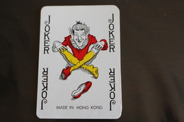 Playing Cards / Carte A Jouer / 1 Dos De Cartes Avec Publicité / Joker - The World Joker .- Made In Hong Kong - Cartes à Jouer