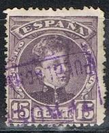 Sello 15 Cts Alfonso XIII, Carteria PUEBLA De HIJAR (Teruel), Edifil Num 245 º - Used Stamps