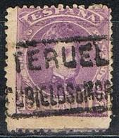 Sello 15 Cts Alfonso XIII, Carteria RUBIELOS De MORA (Teruel), Edifil Num 246 º - Used Stamps